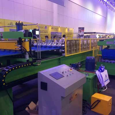 UAE customer -Roof Tile Roll Forming Machine