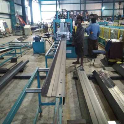 Indian customer -Puriln Roll Forming Machine