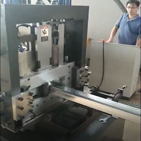 Ghanaian Customer- Puriln Roll Forming Machine
