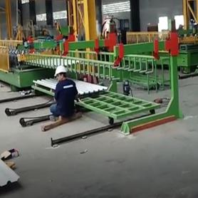 Costa Rican Customer-Roofing Roll Forming Machine