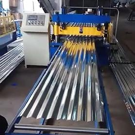 Malawian Customer- Roofing Roll Forming Machine