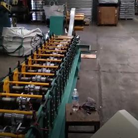 Mexican Customer- Stud and Track Roll Forming Machine